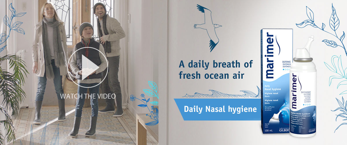 Seawater solution for nasal hygiene